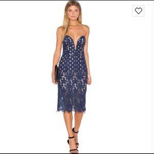 Stylestalker Cassia Strapless Nightfall Dress